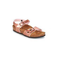 Sandały Dziecko  Birkenstock  RIO. Czerwone sandały dziewczęce Birkenstock. Za 167,30 zł.