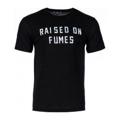 T-shirty męskie z nadrukiem: FOX Koszulka Męska Raised On Fumes Ss Tech M Czarna