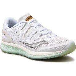 Buty SAUCONY - Liberty Iso S10410-40 Wht. Białe buty do biegania damskie marki Saucony, z materiału. W wyprzedaży za 429,00 zł.