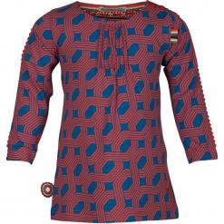 """Bluzka """"In Want Of Something"""" w kolorze czerwono-niebieskim. Czerwone bluzki dziewczęce marki 4FunkyFlavours Kids, z okrągłym kołnierzem. W wyprzedaży za 82,95 zł."""