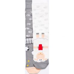 Nanushki - Skarpety Starsheep. Białe skarpetki męskie marki Nanushki, z bawełny. Za 24,90 zł.