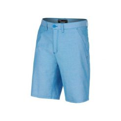 Oakley Oxford Short Ozone 33. Niebieskie spodenki sportowe męskie marki Oakley, na lato, z bawełny, eleganckie. W wyprzedaży za 149,00 zł.