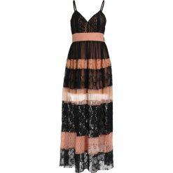 Długie sukienki: Young Couture by Barbara Schwarzer Długa sukienka black/nude