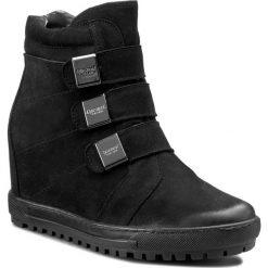 Sneakersy EKSBUT - 66-4319-549-1G Czarny Nubuk. Sneakersy damskie Eksbut, z nubiku. W wyprzedaży za 259,00 zł.