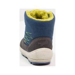 Superfit GROOVY Śniegowce stone/multicolor. Szare buty zimowe chłopięce marki Superfit, z materiału. W wyprzedaży za 223,30 zł.
