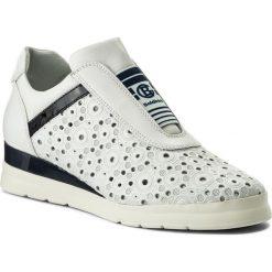 Sneakersy BALDININI - 899107XDOZA9013XXXXX Dome Bianco/Zara Uniform. Białe sneakersy damskie Baldinini, ze skóry. W wyprzedaży za 789,00 zł.
