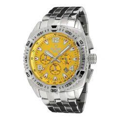 """Zegarki męskie: Zegarek """"7011-YS"""" w kolorze srebrno-żółtym"""