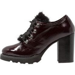 Helia Ankle boot burdeos. Czerwone botki damskie skórzane Helia. Za 629,00 zł.