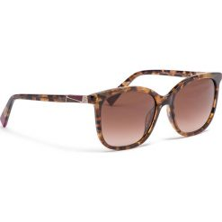 Okulary przeciwsłoneczne FURLA - Pin 995287 D 247F RE0 Toni Havana. Czerwone okulary przeciwsłoneczne damskie marki Furla, ze skóry. Za 760,00 zł.