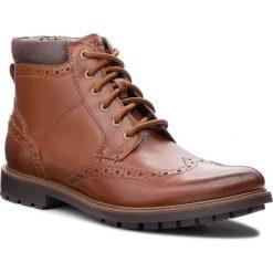 Kozaki CLARKS - Curington Rise 261368547  Tan Leather. Czarne buty zimowe męskie marki House. W wyprzedaży za 279,00 zł.