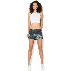 Colour Pleasure Spodnie damskie CP-020 56 zielono-czarne r. M-L. Fioletowe spodnie sportowe damskie marki Colour pleasure, uniwersalny. Za 72,34 zł.