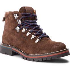 Trapery PEPE JEANS - Mountaineer Suede PMS50168 Dk Brown 898. Brązowe botki męskie Pepe Jeans, z jeansu. Za 839,00 zł.