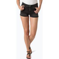 Review - Damskie krótkie spodenki jeansowe, szary. Szare szorty jeansowe damskie marki Review, l, z okrągłym kołnierzem. Za 119,95 zł.