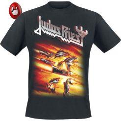 Judas Priest Firepower T-Shirt czarny. Czarne t-shirty męskie z nadrukiem Judas Priest, l, z okrągłym kołnierzem. Za 89,90 zł.