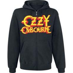 Ozzy Osbourne Crowned Skull Bluza z kapturem rozpinana czarny. Czarne bluzy męskie rozpinane Ozzy Osbourne, l, z nadrukiem, z kapturem. Za 184,90 zł.