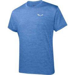 T-shirty męskie: Salewa Koszulka męska Puez Melange Dry Royal Blue Melange r. M (26537-3426)