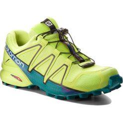 Buty sportowe męskie: Buty SALOMON – Speedcross 4 400779 29 V0 Acid Lime/Lime Green/Deep Lake