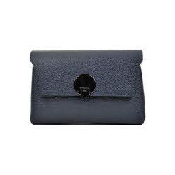 Torebka w kolorze granatowym - (S)23,5 x (W)16,5 x (G)8,5 cm. Niebieskie torebki klasyczne damskie Bestsellers bags, w paski, z materiału. W wyprzedaży za 239,95 zł.