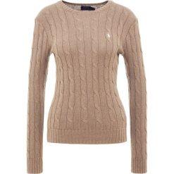Polo Ralph Lauren JULIANNA Sweter truffle heather. Szare swetry klasyczne damskie Polo Ralph Lauren, xl, z bawełny, polo. Za 589,00 zł.