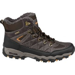 Trekkingowe buty męskie Highland Creek brązowe. Brązowe buty trekkingowe męskie Highland Creek, z materiału, na sznurówki. Za 159,90 zł.
