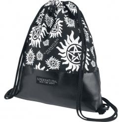 Supernatural Anti Possession Torba treningowa czarny/biały. Białe torebki klasyczne damskie Supernatural, z nadrukiem, z nadrukiem. Za 62,90 zł.
