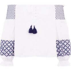 Bluzki asymetryczne: Rebecca Minkoff TIFFANY  Bluzka white
