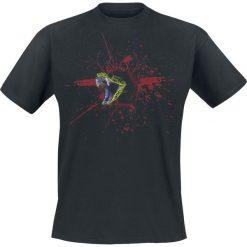 T-shirty męskie z nadrukiem: Schlange T-Shirt czarny
