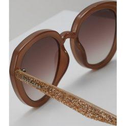 Jimmy Choo MACE Okulary przeciwsłoneczne nude. Szare okulary przeciwsłoneczne damskie aviatory Jimmy Choo. W wyprzedaży za 779,00 zł.