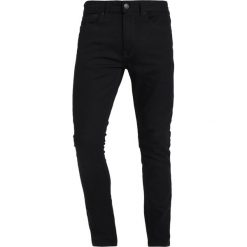 Jeansy męskie regular: Burton Menswear London Jeans Skinny Fit black