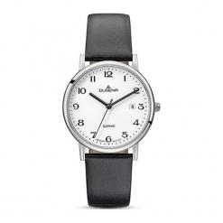 """Zegarek """"4460727"""" w kolorze czarno-srebrnym. Czarne, analogowe zegarki męskie marki Dugena & Nautec No Limit, srebrne. W wyprzedaży za 359,95 zł."""