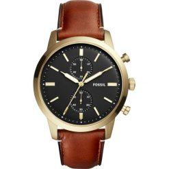 Zegarek FOSSIL - Townsman FS5338 Brown/Gold. Różowe zegarki męskie marki Fossil, szklane. W wyprzedaży za 549,00 zł.