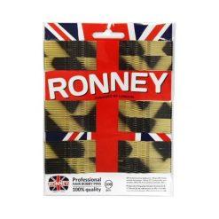Ronney Profesjonalne wsuwki do włosów na karcie długie, złoto - czarne 100 szt. Czarne ozdoby do włosów Ronney. Za 5,54 zł.