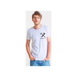 Koszulki męskie: WORKING CLASS – t-shirt męski biały