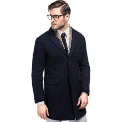 Płaszcz FRANCESCO 16-10KK. Brązowe płaszcze na zamek męskie marki Cropp, na zimę, l, sportowe. Za 699,00 zł.