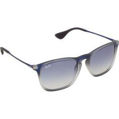 """Okulary przeciwsłoneczne męskie: Okulary unisex """"Chris"""" w kolorze niebieskim"""