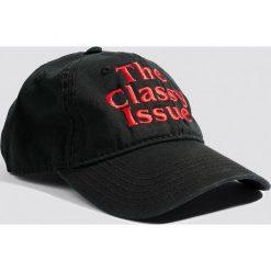 Czapki damskie: The Classy Issue Czapka z daszkiem Classic Logo - Black