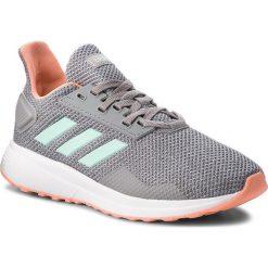 Buty adidas - Duramo 9 K BB7063 Grethr/Clemin/Lgrani. Szare buty do biegania damskie Adidas, z materiału. Za 179,00 zł.