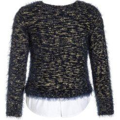 Swetry chłopięce: Derhy ILINKA PULL POILU Sweter marine