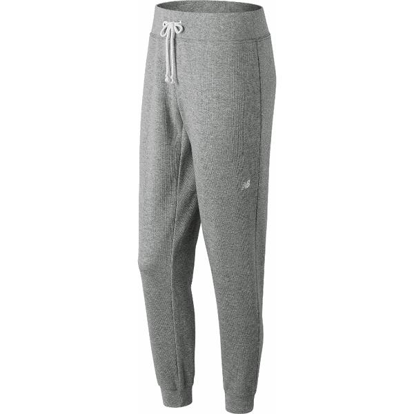 New Balance WP81866AG. Szare spodnie dresowe damskie marki New Balance, s, z bawełny. W wyprzedaży za 99,99 zł.