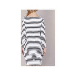 Sukienki krótkie Petit Bateau  JPPAI. Białe sukienki hiszpanki Petit Bateau, m, z krótkim rękawem, mini. Za 311,20 zł.