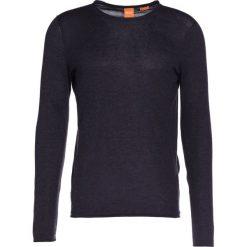 BOSS Orange KAMIRO SLIM FIT Sweter dark grey. Szare kardigany męskie BOSS Orange, m, z bawełny. W wyprzedaży za 343,20 zł.