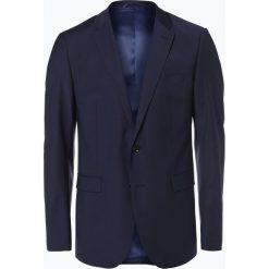Marynarki męskie slim fit: Finshley & Harding – Męska marynarka od garnituru modułowego – Black Label, niebieski