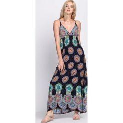 Sukienki: Granatowa Sukienka Vikings