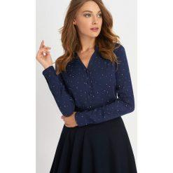 Odzież damska: Koszula w gwiazdki