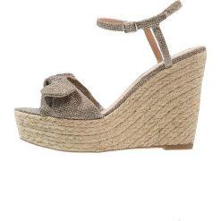 Sandały damskie: New Look PRINCESS Sandały na obcasie gold