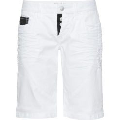 Odzież sportowa męska: Krótkie spodenki bonprix biało-czarny
