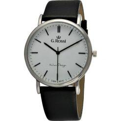 Zegarki męskie: Zegarek Gino Rossi męski Dorian czarny (10768D-3A1)