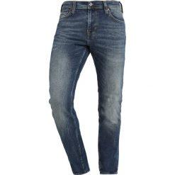 Mustang VEGAS Jeansy Slim Fit denim blue. Czarne jeansy męskie relaxed fit marki Mustang, l, z bawełny, z kapturem. Za 379,00 zł.