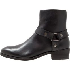 Botki męskie: Shoe The Bear APACHE Botki kowbojki i motocyklowe black