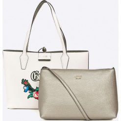 Shopper bag damskie: Guess Jeans - Torebka dwustronna Bobbi